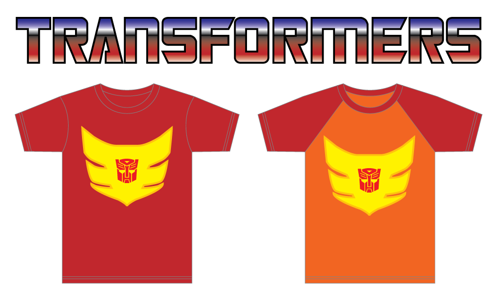 Transformers Hot Rod T-shirts
