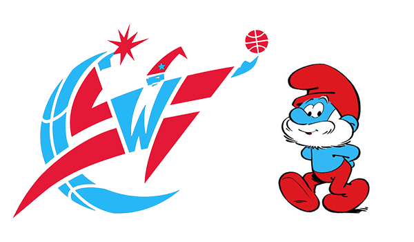 Washington Wizards Papa Smurf