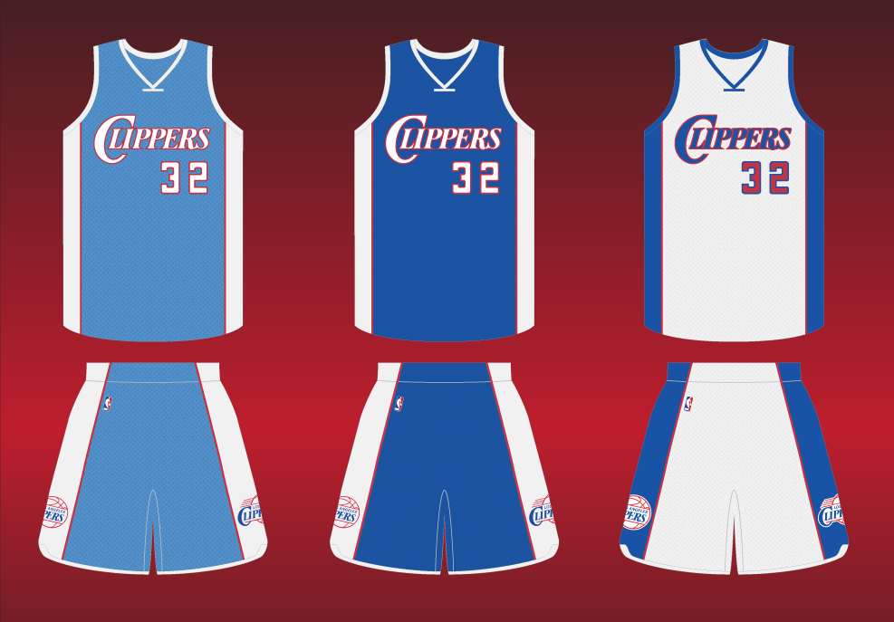 Redesign the LA Clippers