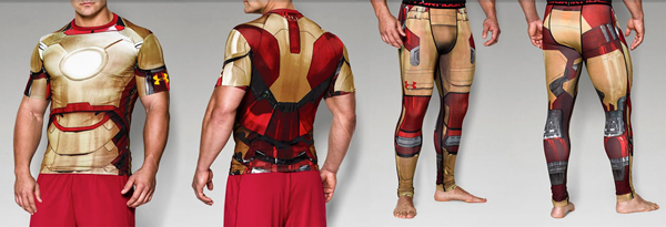 UnderArmour Iron Man Halloween Costume