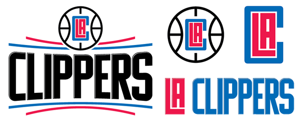 Los Angeles Clippers current logos