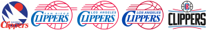 Los Angeles Clippers logo history