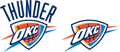 Oklahoma City Thunder current logos