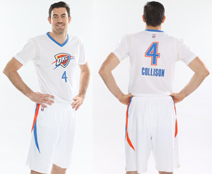 Oklahoma City Thunder pride uniform