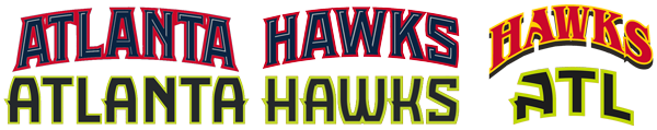 Atlanta Hawks wordmark comparison