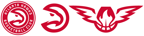 Atlanta Hawks current logos