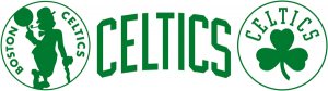 Boston Celtics inconsistent typefaces