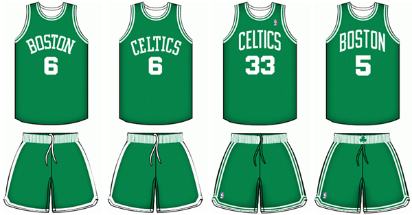 Celtics Uniform 50