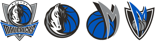 Dallas Mavericks current logos