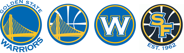 Golden State Warriors current logos