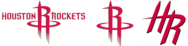 Houston Rockets current logos