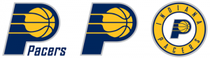 Indiana Pacers current logos