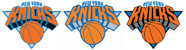 New York Knicks logo adjustment
