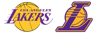 Los Angeles Lakers current logos