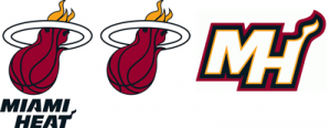 Miami Heat current logos