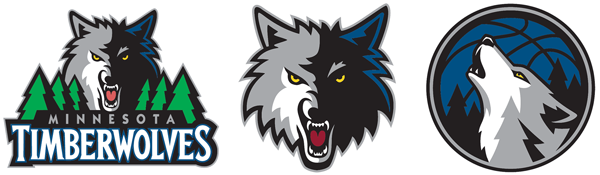 Minnesota Timberwolves current logos