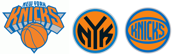 New York Knicks current logos