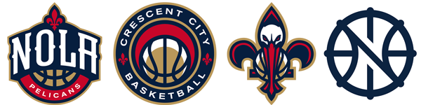 New Orleans Pelicans secondary alternate logos