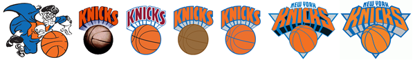 New York Knicks logo history