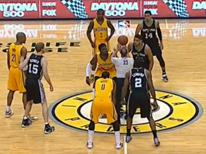 Indiana Pacers inconsistent use of yellow