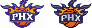 Phoenix Suns old vs new alternate logo