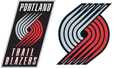 Portland Trail Blazers current logos