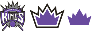 Sacramento Kings current logos