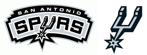 San Antonio Spurs current logos