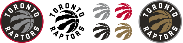 Toronto Raptors current logos