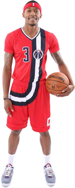 Washington Wizards Baltimore pride uniform