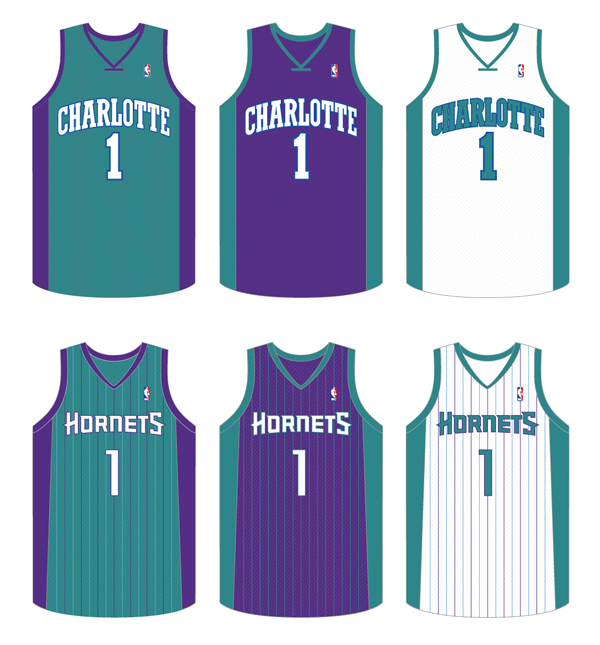 7f4efc1cf Here s a couple of my ideas for what the new Charlotte Hornets uniforms  could look like. I doubt they would be able to use the old script (a  modified ...