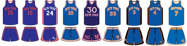 e925a3099 New York Knicks uniform history